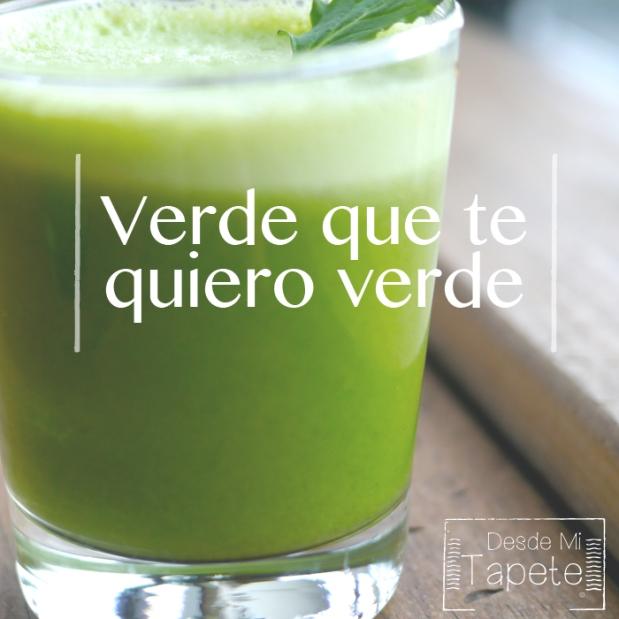 VerdeQueTeQuieroVerde